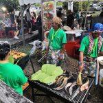 Food at Rainforest World Music Festival 2018