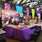 Booths at Rainforest World Music Festival 2018