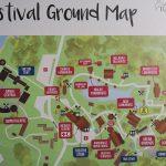 Rainforest World Music Festival 2018 Ground Map