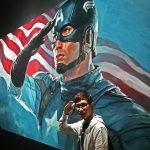 Captain America at Marvel Studios: Ten Years of Heroes Exhibition