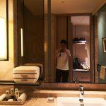 Sofitel Singapore City Centre Hotel Twin Bed Room Toilet