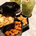Complimentary mocktail and snacks at Sofitel Singapore City Centre Hotel