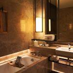 Sofitel Singapore City Centre Hotel Twin Bed Room Bathtub