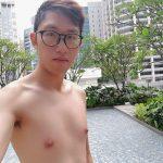 Selfie at Sofitel Singapore City Centre Hotel Poolside