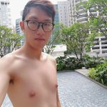 Selfie at Sofitel Singapore City Centre Hotel Poolside