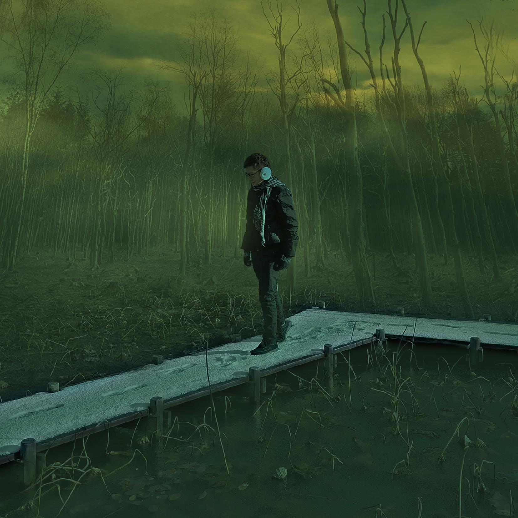 Death Swamp Digital Art by Alvin Sim