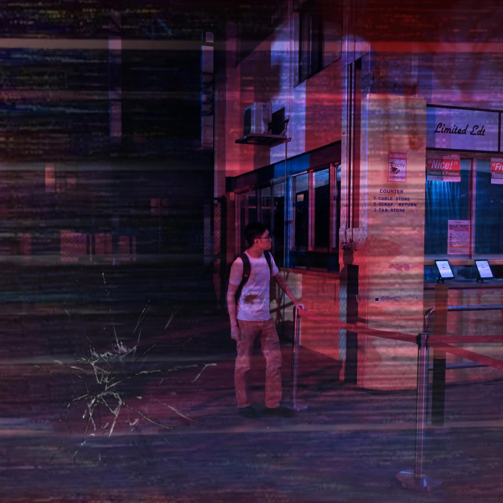 Distortion Digital Art by Alvin Sim