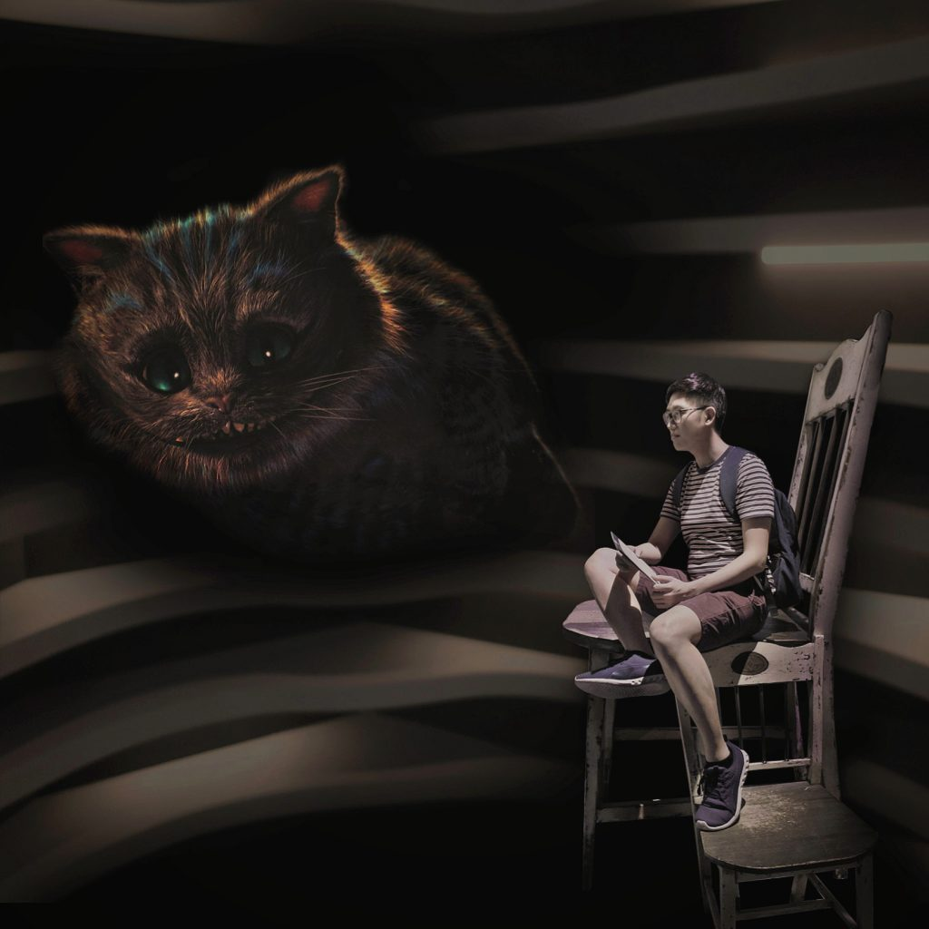 Do You Read Me? Digital Art by Alvin Sim