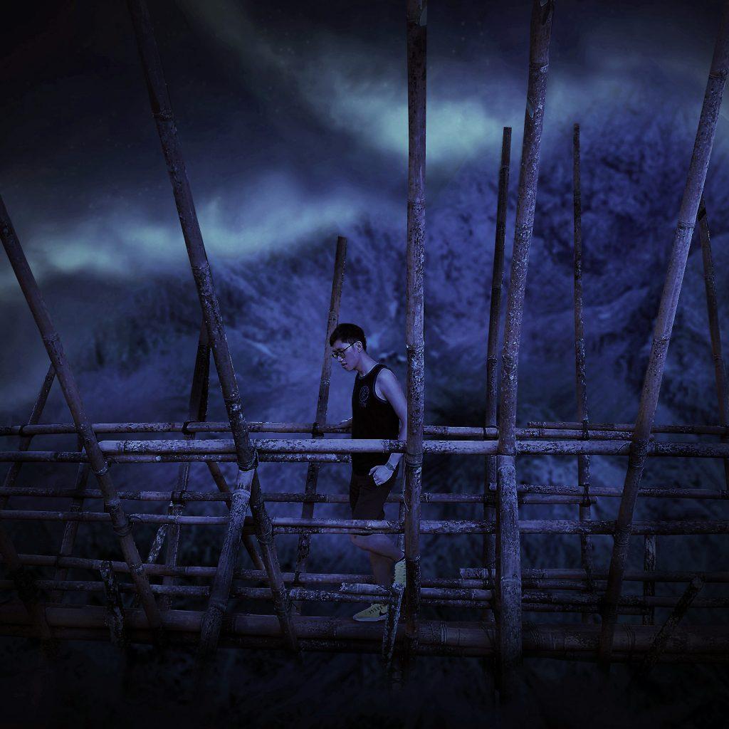 船到桥头自然直 Digital Art by Alvin Sim
