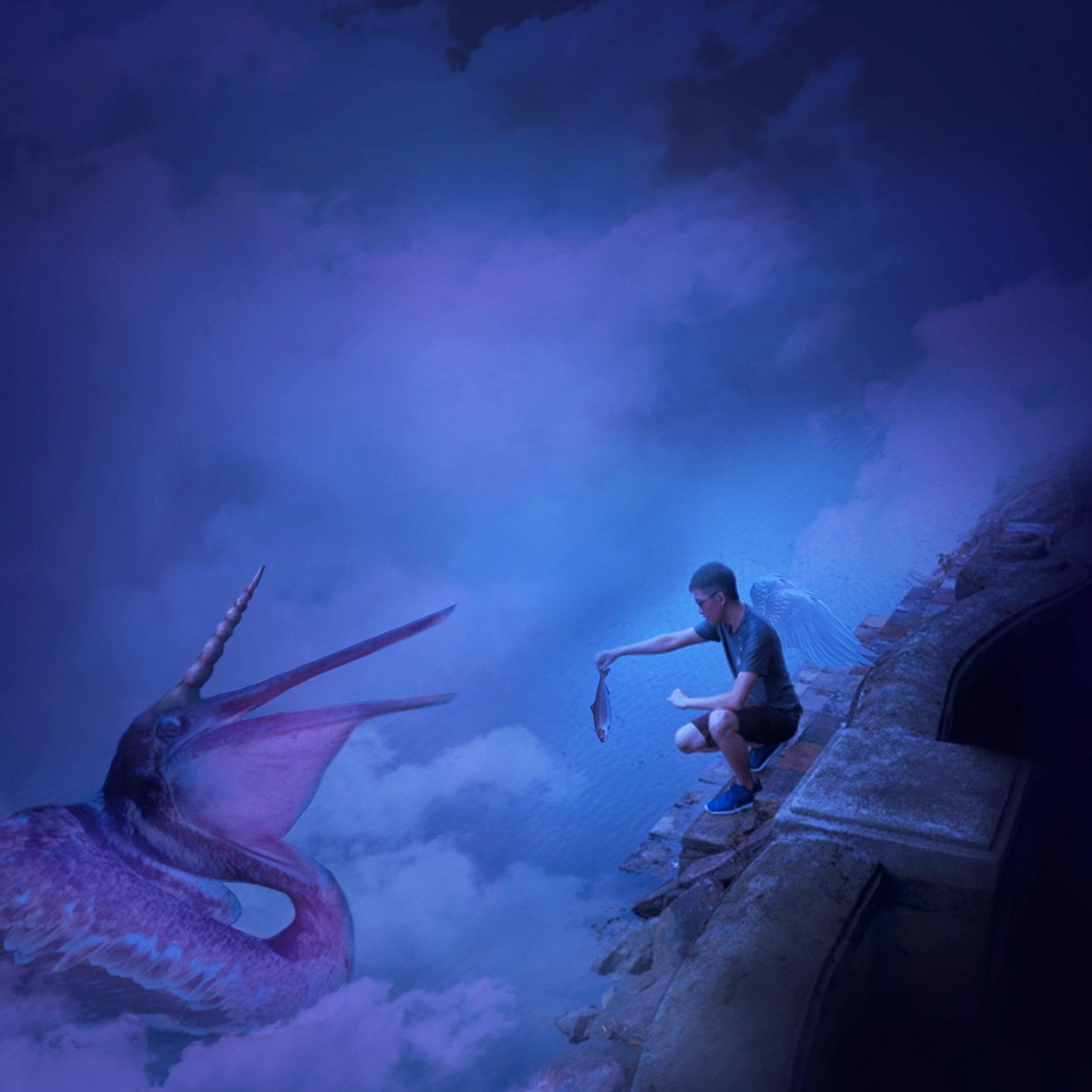 Heaven's Keeper Digital Art by Alvin Sim