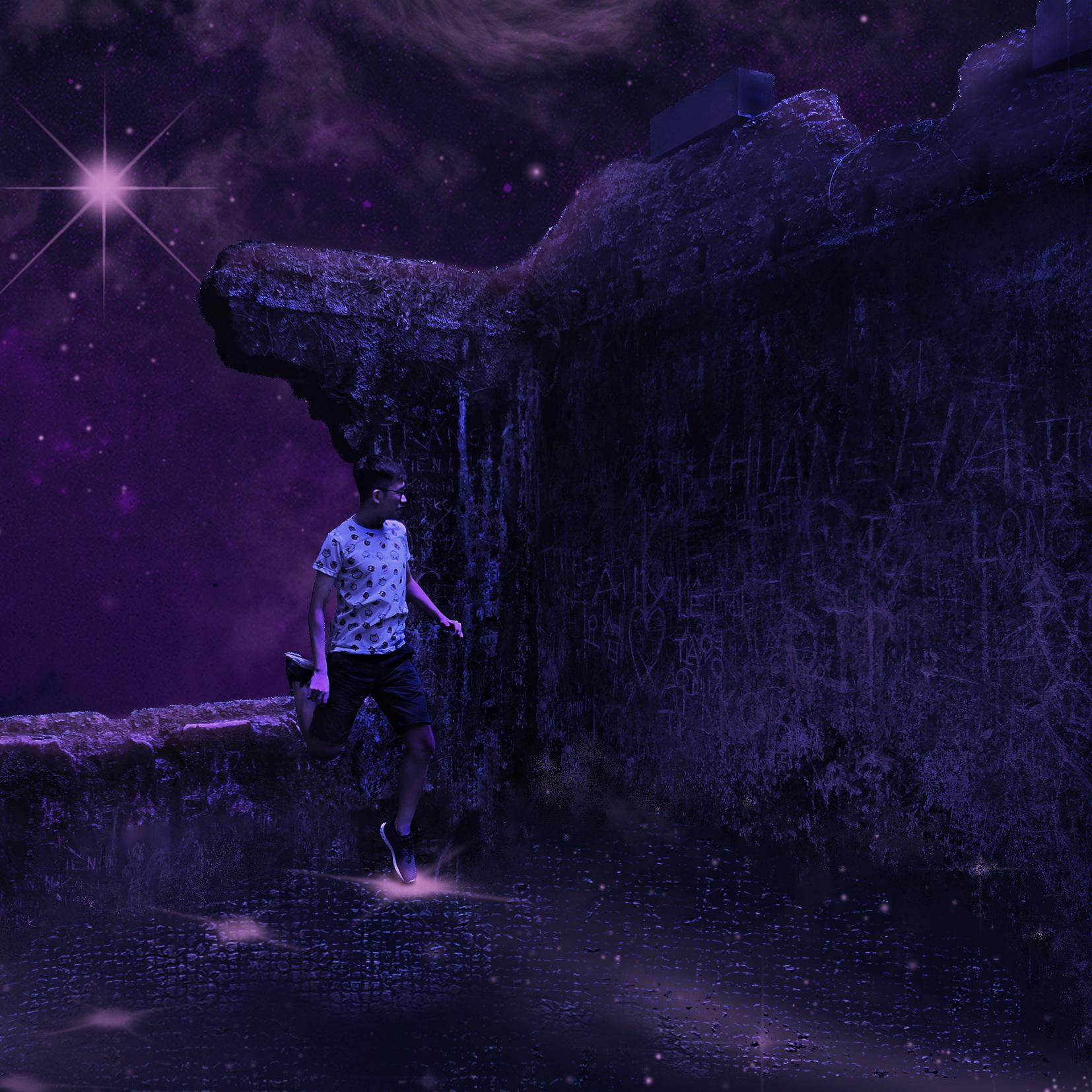 Leap Of Faith Digital Art by Alvin Sim
