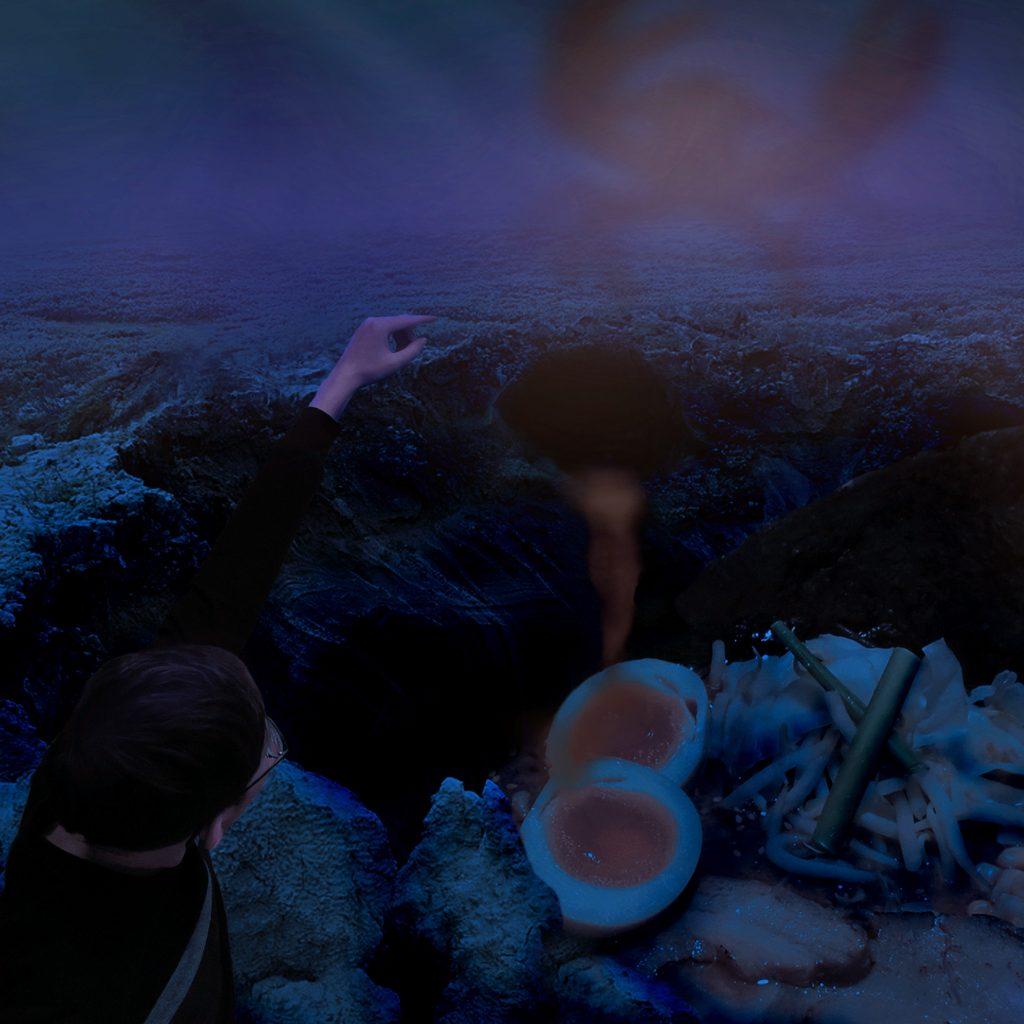 Sinkhole Ramen Digital Art by Alvin Sim