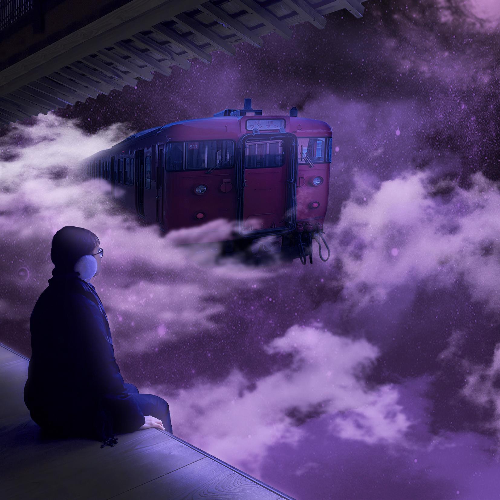 Sky Train Digital Art by Alvin Sim
