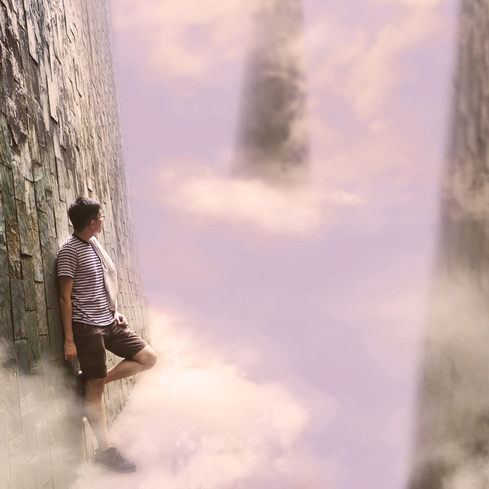 Skytopia Digital Art by Alvin Sim