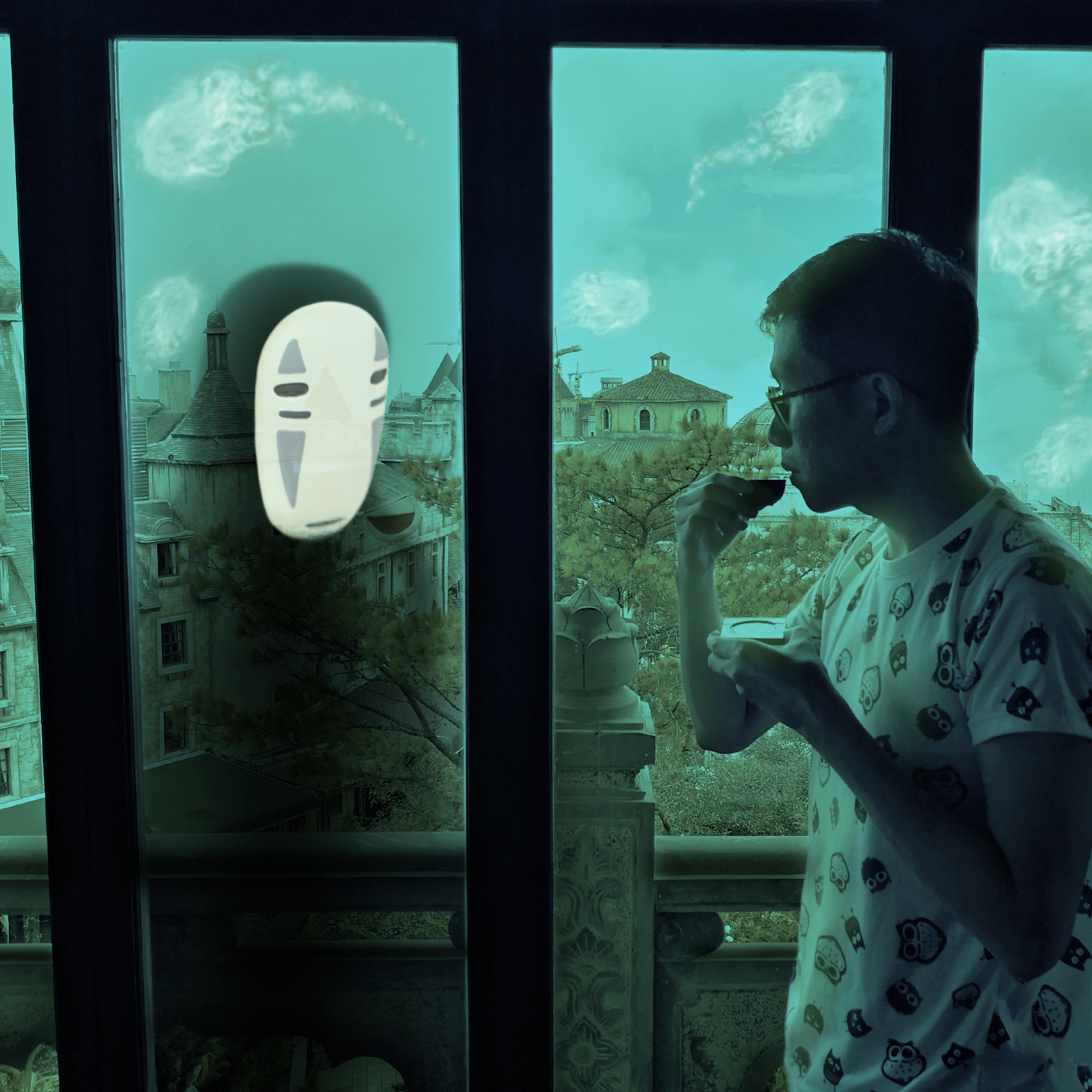 Spirited Away Digital Art by Alvin Sim