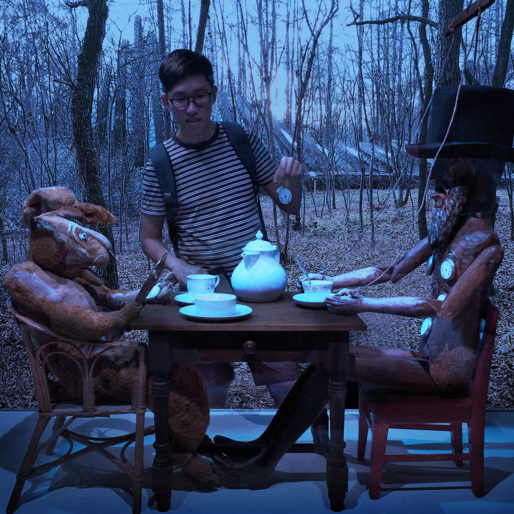 Tea Party Digital Art by Alvin Sim