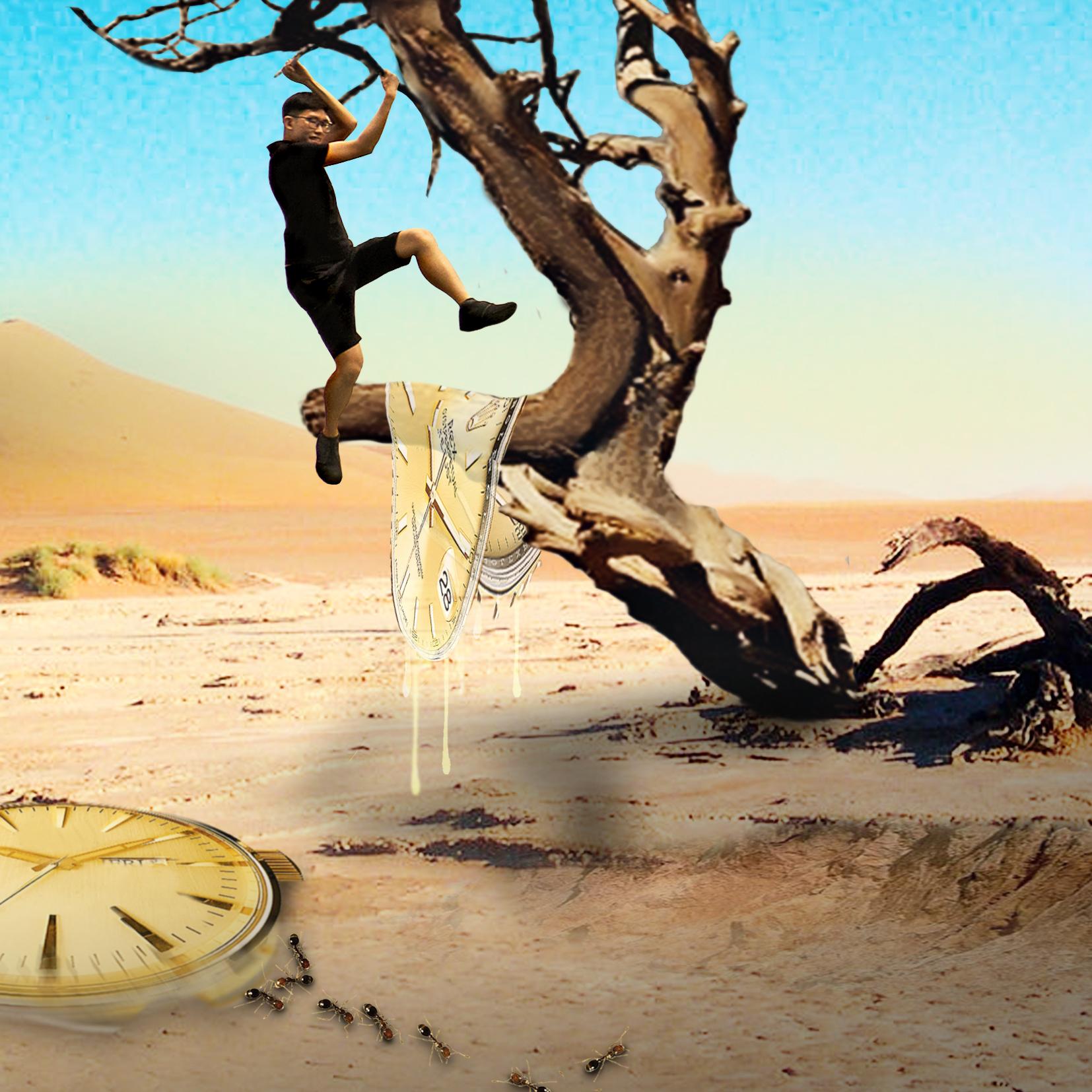 The Persistence Of Memory Digital Art by Alvin Sim