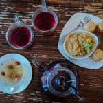 Singapore WaterDrop Tea House Food spread