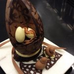 Easter Day Chocolate Showpiece
