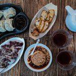 Singapore WaterDrop Tea House spread