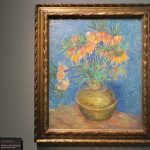 Imperial Fritillaries in a Copper Vase painting in Musée d'Orsay by Vincent Van Gogh
