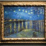 The Starry Night painting in Musée d'Orsay by Vincent Van Gogh