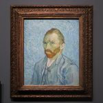 Portrait of the Artist painting in Musée d'Orsay by Vincent Van Gogh