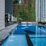 Carlton City Hotel Singapore Pool Side
