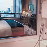 Carlton City Hotel Singapore Hotel Room Toilet Bathtub