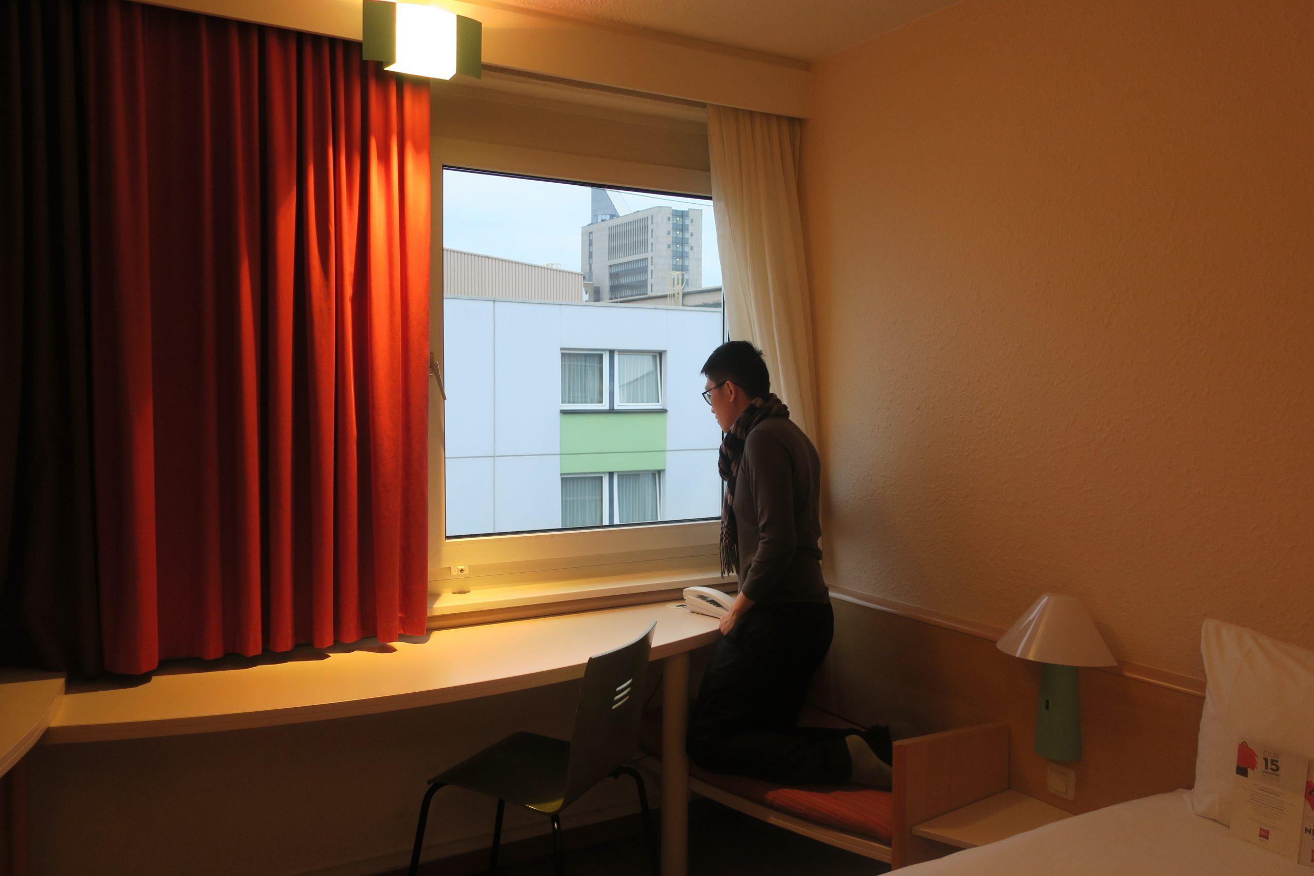 Hotel Ibis Duesseldorf Hauptbahnhof Room