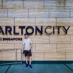 Carlton City Hotel Singapore Entrance