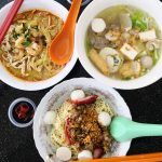 Local food in Kuching Malaysia