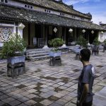 Outside the Imperial Citadel Of Hue, Vietnam