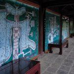 The passage way at Imperial Citadel Of Hue, Vietnam