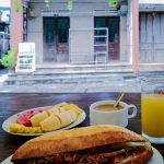 Complimentary breakfast at The Corner Homestay, Hoi An