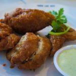 Took Lae Dee Beek Kai Yat Saai (Stuffed Chicken Wing with Homemade Sauce